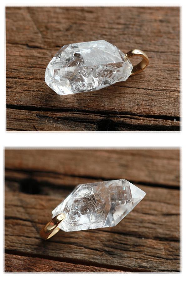 【天然石ペンダント】ハーキマーダイヤモンド(Bランク・アメリカ産)・ペンダントトップ(ネックレス別売)