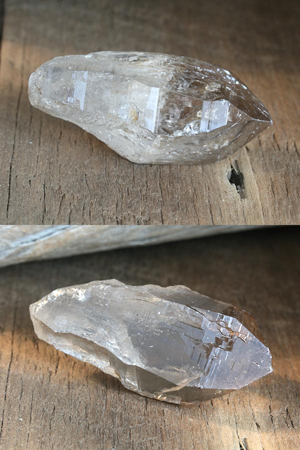 【ヒマラヤ水晶・ガウリシャンカール産】スモーキークォーツ(煙水晶)・ポイント原石